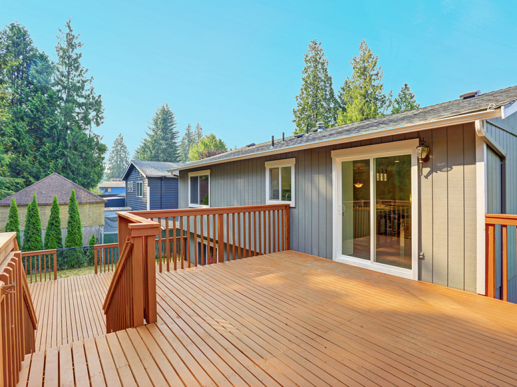 Why add a deck to your home?
